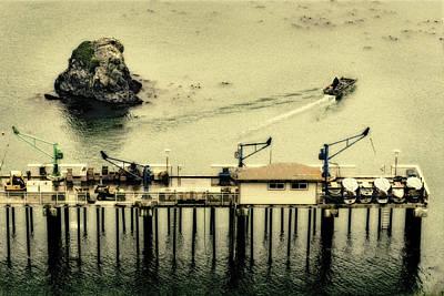 Photograph - Trinidad Pier by Jon Exley
