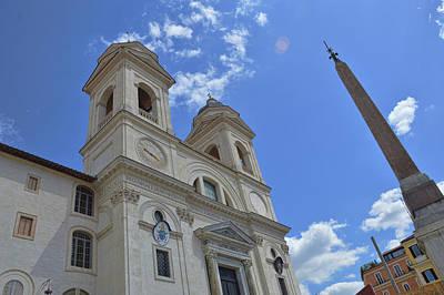 Photograph - Trinita Dei Monti by JAMART Photography
