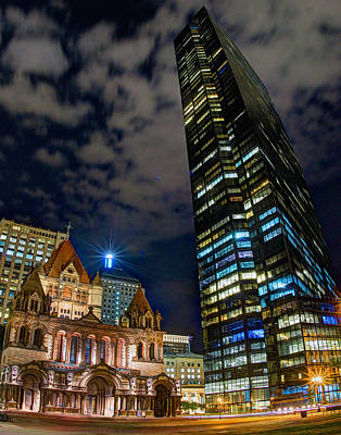Photograph - Trinity And The Tower 273 by Jeff Stallard