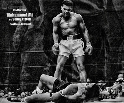 Trinity Boxing Gym Ali Vs Liston  Art Print