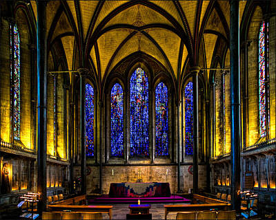 Photograph - Trinity Chapel Salisbury Cathedral by Chris Lord