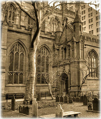 Photograph - Trinity Church 102 by Timothy Lowry