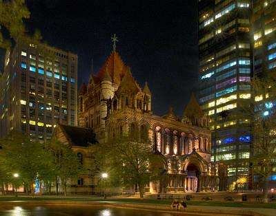 Photograph - Trinity Church 237 by Jeff Stallard