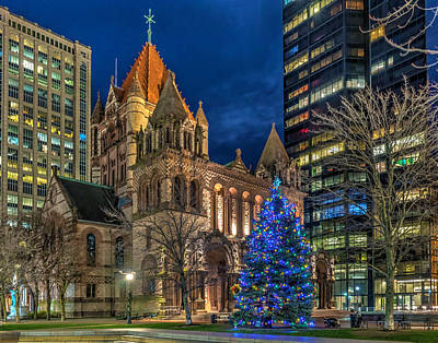 Photograph - Trinity Church 37456 by Jeff Stallard