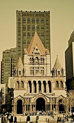 Photograph - Trinity Church by Corinne Rhode