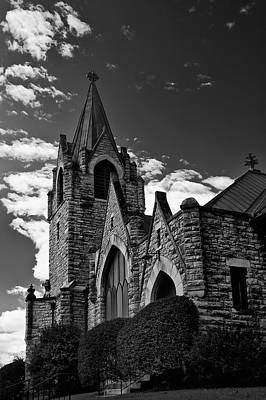 Photograph - Trinity Church by Mick Burkey
