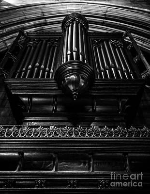 Trinity Church Pipe Organ Art Print by James Aiken