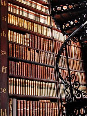 Photograph - Trinity Collage Library Dublin  by David Matthews