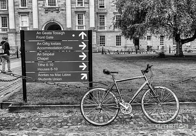 Photograph - Trinity College, Dublin by Jim Orr