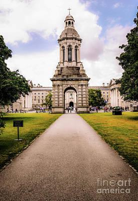 Photograph - Trinity College Dublin  by Lexa Harpell