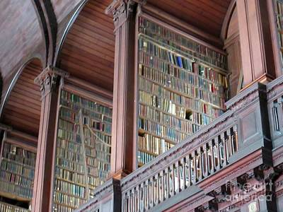 Photograph - Trinity College Library by Crystal Rosene