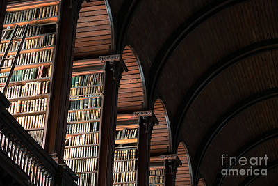Photograph - Trinity College Library II by Mary-Lee Sanders