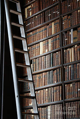Photograph - Trinity College Library by Mary-Lee Sanders