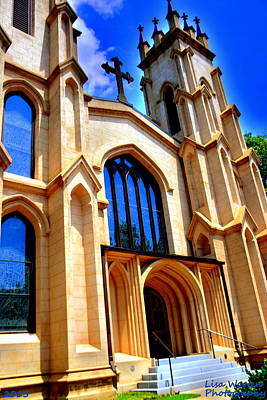 Photograph - Trinity Episcopal Cathedral Columbia Sc by Lisa Wooten