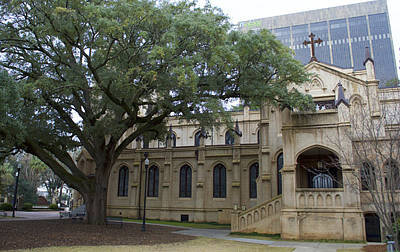 Nic Photograph - Trinity Episcopal Cathedral by Skip Willits