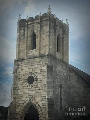 Photograph - Trinity Epispcopal Church Hannibal Missouri by Luther Fine Art