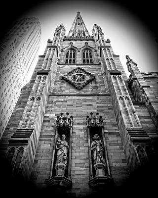 Photograph - Trinity Facade by Alan Raasch
