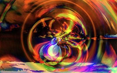 Digital Art - Trinity - Genesis by Richard Thomas
