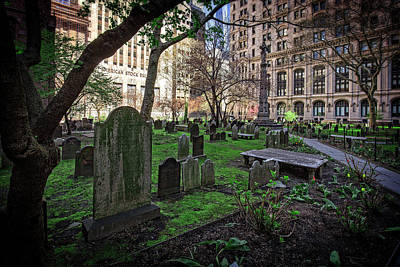 Photograph - Trinity Graveyard Nyc by Alan Raasch