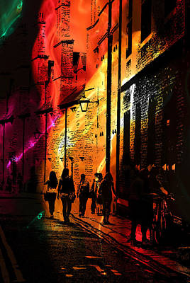 Digital Art - Trinity Lane by Andy Readman