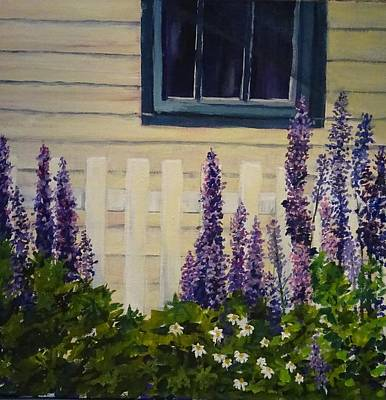 Painting - Trinity Lupines by Diane Arlitt