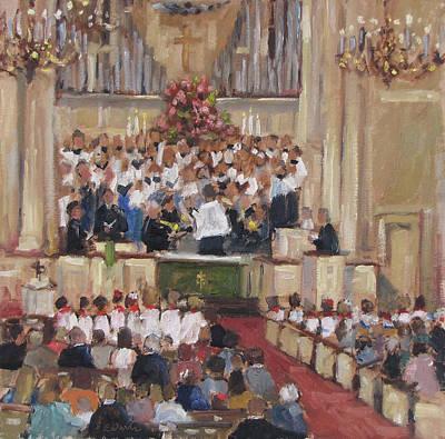 Trinity Presbyterian Church - 125th Anniversary Art Print