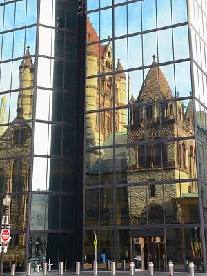 Photograph - Trinity Reflection by Corinne Rhode
