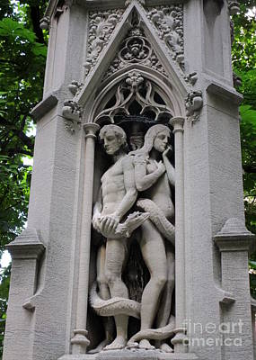 Photograph - Trinity Sculptures by Randall Weidner