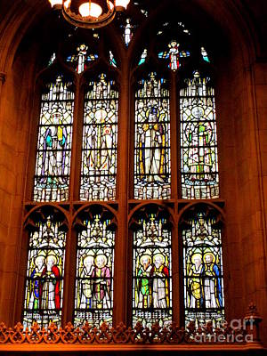 Photograph - Trinity Stained Glass by Randall Weidner