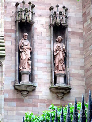 Photograph - Trinity Statues by Randall Weidner