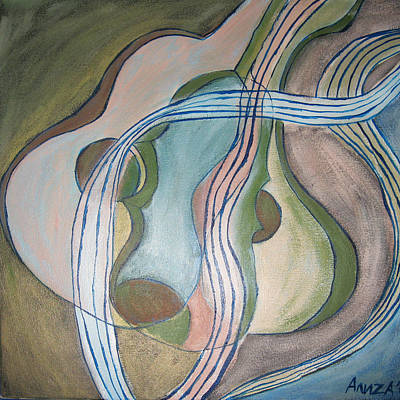 Trio Art Print by Aliza Souleyeva-Alexander