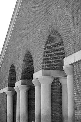 Photograph - Trio Of Arches At The Waterwall by Angela Rath