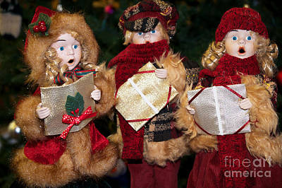 Photograph - Trio Of Carolers by Vinnie Oakes