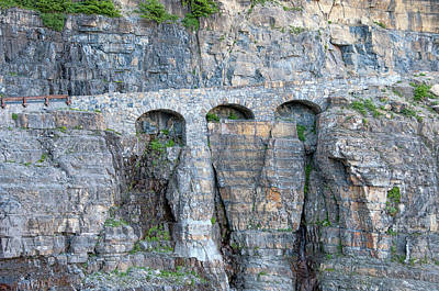 Photograph - Triple Arches by Steve Stuller