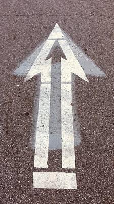 Photograph - Triple Arrow by Douglas Fromm