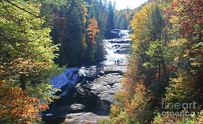 Photograph - Triple Falls In Autumn by Kevin McCarthy