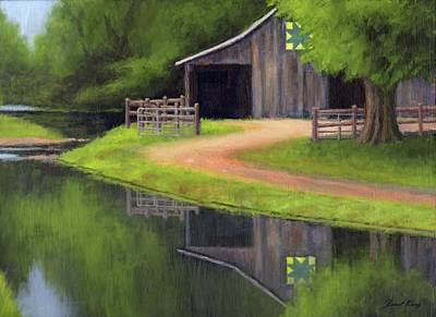 Painting - Triple L Ranch  by Janet King