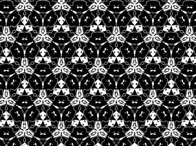 Triple Lace Art Print