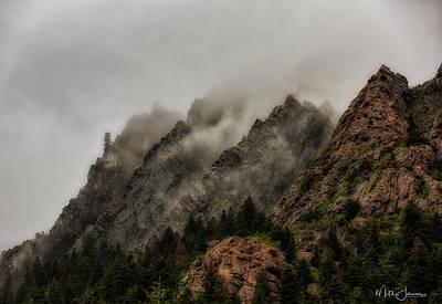 Caravaggio - Triple Peaks by Mitch Johanson