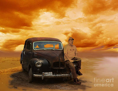 Trippin' With My '48 Austin A40 Art Print