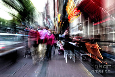 Photograph - Tripping In Amsterdam I by John Rizzuto