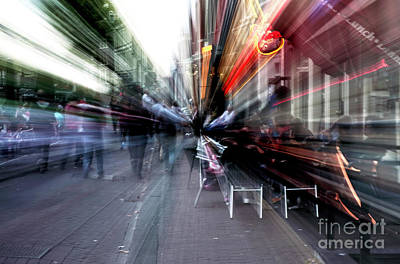 Photograph - Tripping In Amsterdam IIi by John Rizzuto