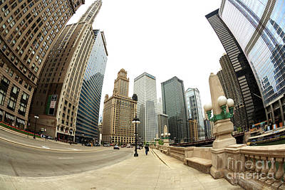 Photograph - Tripping In Chicago by John Rizzuto