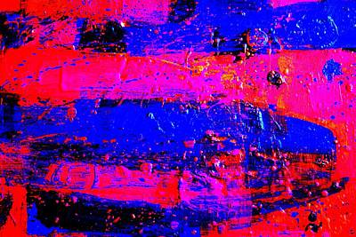 Abstract Expressionism Painting - Triptych 3 Cropped by John  Nolan