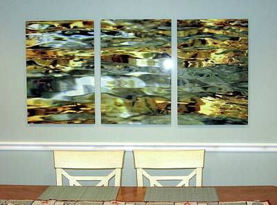 Digital Art - Triptych  by Dale Ford