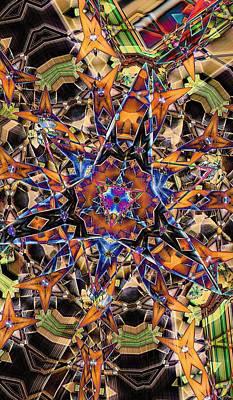 Digital Art - Tristar by Ron Bissett