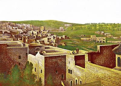 Painting - Tristram Bethlehem 1870 by Munir Alawi