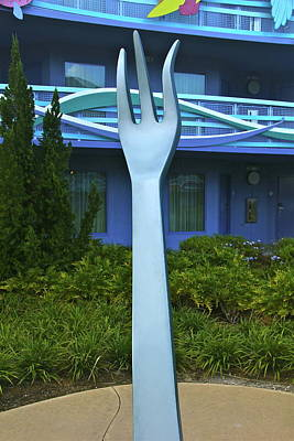 Photograph - Triton Fork by Denise Mazzocco