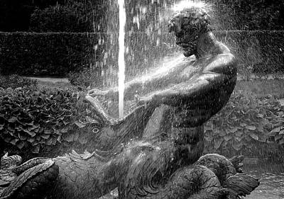 Triton Fountain Art Print