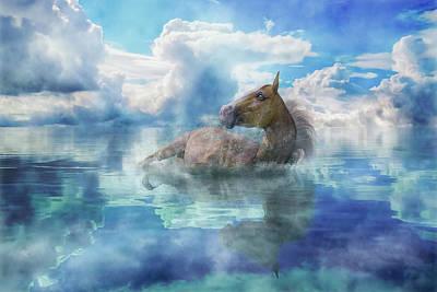 Equine Digital Art - Triumph  by Betsy Knapp